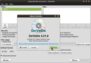 Perangkat Lunak Disk Management 'DeveDe'
