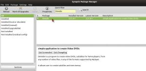 Install Devede Via Synaptic