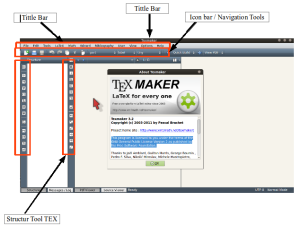 Gambar 1 : Interface TextMaker
