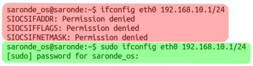 Penggunaan perintah CLI (/sbin)