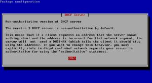 Installasi DHCP Server