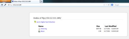 Proses Login FTP berhasil...!!!