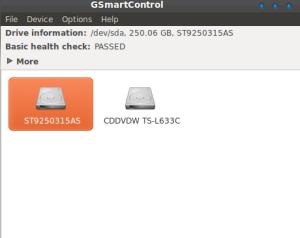 Antarmuka GSmartControl
